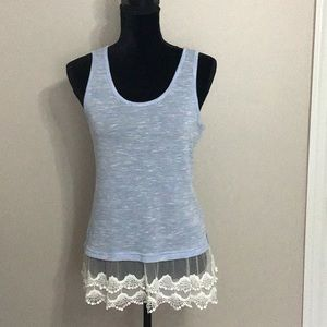 "Blue ""Charming Charlie's"" Tank - Size S"